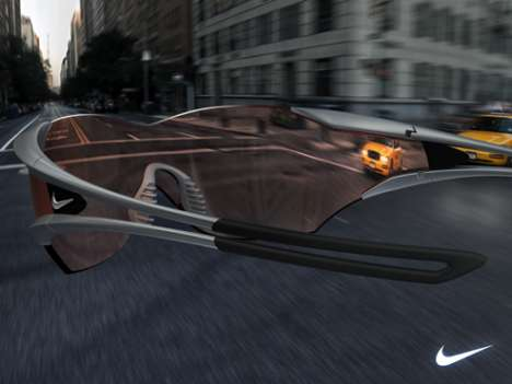 Rearview Glasses - Nike Hindsight Extends Peripheral Vision