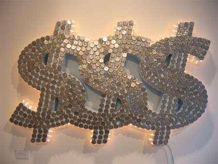 Money Sculptures