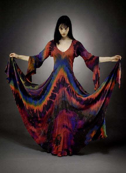 Bohemian Tie-Dyed Fashion