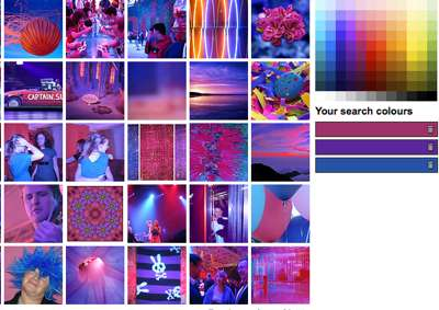Color-Based Photo Searching
