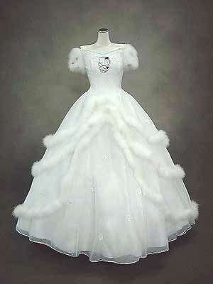 Anime Wedding Fashion Update The Hello Kitty Bridal Gown