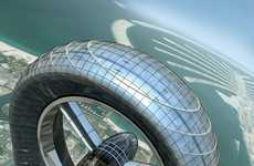 Giant Exhaust Fan Architecture - The Anara Tower in Dubai