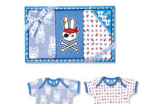 Tattoo Clothes for Babies - Six Bunnies