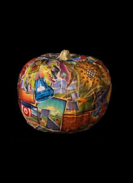Modern Art Pumpkins
