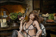 Pirate Queen Fashion - Helena Christensen For Agent Provocateur