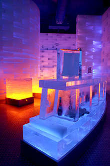 Beach and Ice Bars