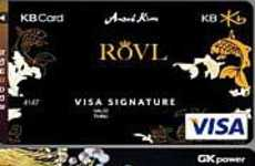 Bejeweled Credit Cards - Kazakh Diamond Mastercard