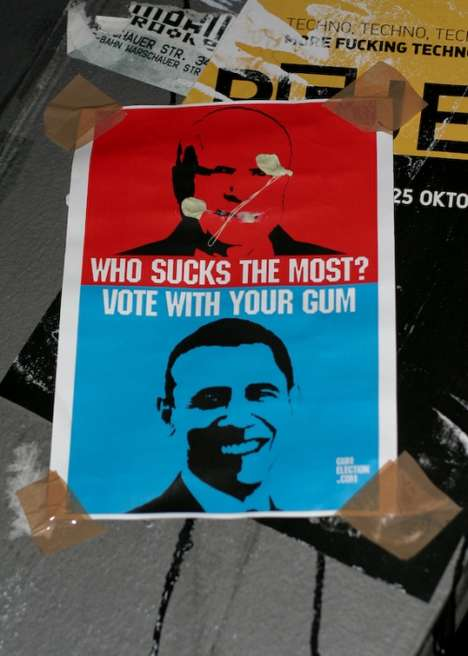 Voting with Gum