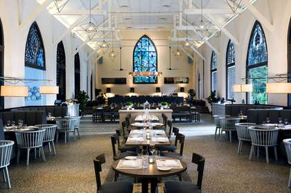 Culinary Church Conversions - The White Rabbit Restaurant