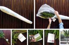 Bouquets Of Cannabis - PR Mail-Out For 'Weeds' TV Show