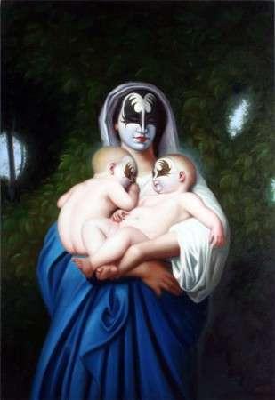 Rock 'N Roll Oil Paintings