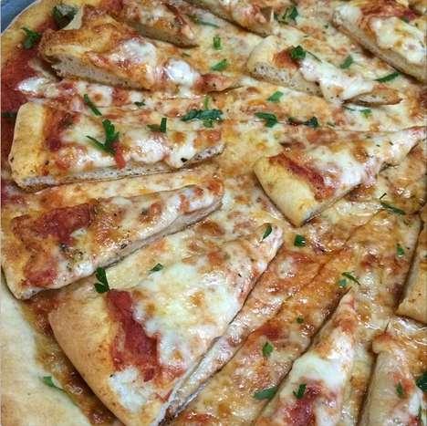 Cheesy Meta Pizzas