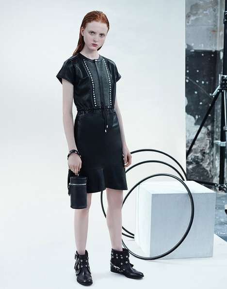 Girly Goth Fashion