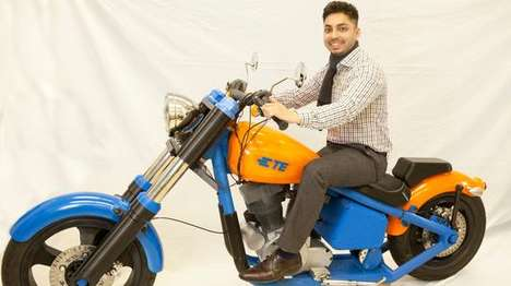 3D-Printed Motorbikes
