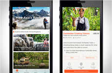 Adventure Tourism Apps - 'Klook' is a New App for Booking Thrilling Travel Experiences in Asia