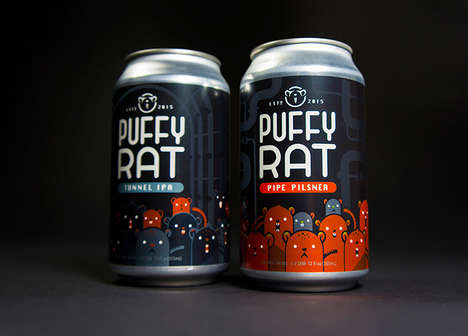 Brooklyn-Inspired Beer Branding