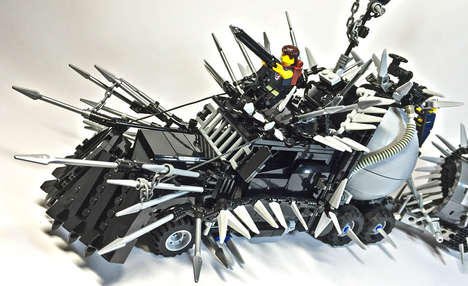 Apocalyptic LEGO Cars - LEGO Will Imagines What Mad Max LEGO Vehicles Would Look Like