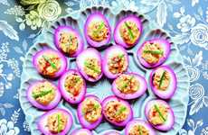 Purple Pickled Eggs - This Beet-Pickled Deviled Egg Recipe Creates a Gorgeous Hue