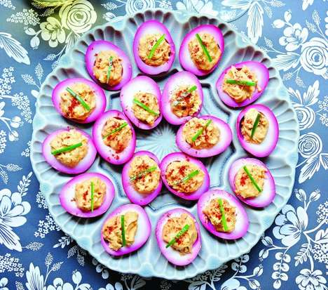 Purple Pickled Eggs