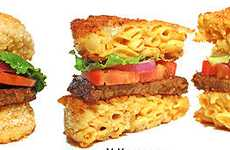 Vegan Burger Hybrids - Ms. Vegan's 'Cheesy Mac Bun Burger' is a Meatless Mash-Up