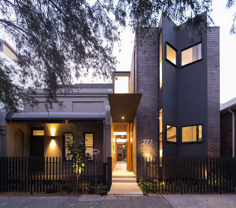 Folding Front Houses