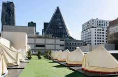 Luxurious Camping Hotels - Jerome Borazio's 'St. Jerome's: The Hotel' Makes Camping More Glamorous