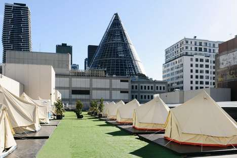Luxurious Camping Hotels