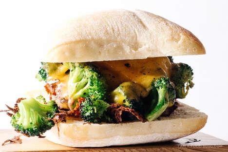 Healthy Cheddar Burgers