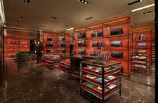 Opulent Sartorial Boutiques - The Prada Piazza San Moise Store Embodies Luxury and Heritage