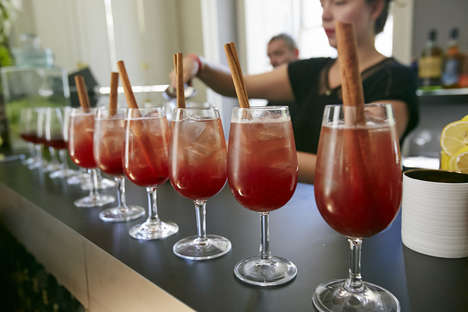 Spiced Wine Cocktails