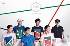 Digitized Sportswear Catalogs - The LACOSTE LT12 Collection is Unveiled in an Interactive Lookbook