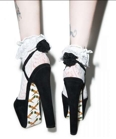 Rabbit-Themed Heels