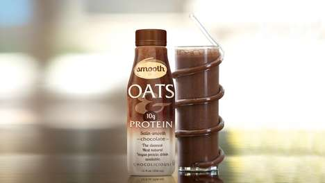 Oat-Infused Protein Drinks
