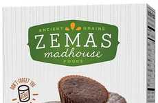 Healthy Bean Brownies - The New Brownies Bites from 'Zemas' Feature an Unexpected Healthy Ingredient