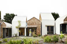 Village-Inspired Homes - The Tower House by Andrew Maynard Architects is a Throwback to Village Life