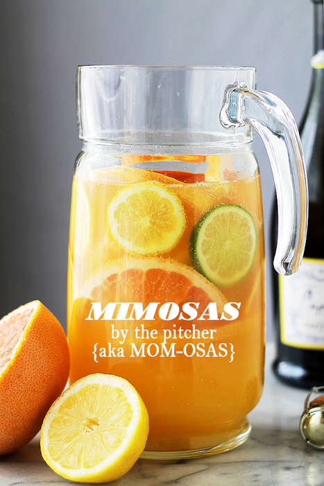 Diet-friendly Mimosa Pitchers