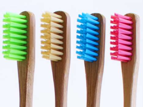 Biodegradable Bamboo Toothbrushes - The 'Bam-Brush' is a Sustainable Toothbrush That Will Break Down