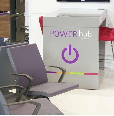 Public Charging Pods