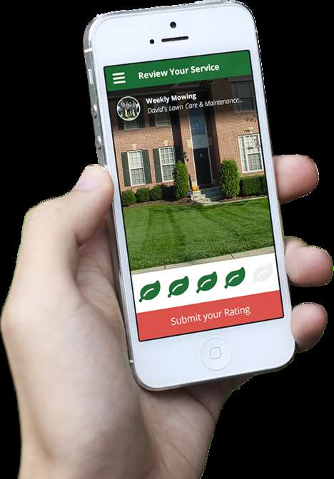 Lawn Care Apps - The 'Lawnstarter' App Makes It Easier for Homeowners to Care for Their Gardens