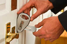 Temporary Door Locks - The 'Easylock' is a Convenient Security Solution for Travelers and Renters