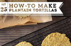 Banana-Based Tortillas - This Plant-Based Plantain Tortilla Recipe is a Grain-Free Alternative