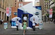 Comforting Tissue Stunts - Kleenex Employs Experiential Brand Marketing to Create Ease