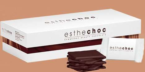 Anti-Aging Chocolates - Esthechoc is a Beauty Chocolate That Promises to Fight Signs of Aging