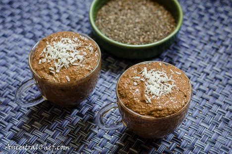 Chocolate Chia Puddings