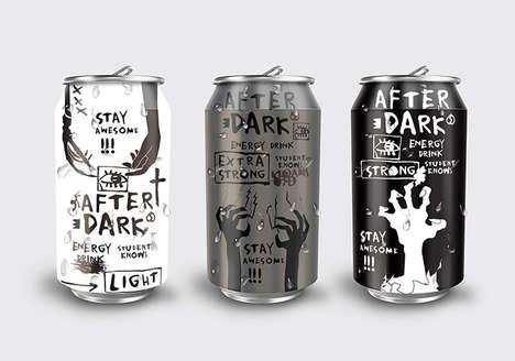 Zombie-Branded Energy Drinks