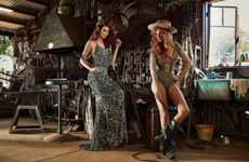 Glam Cowgirl Editorials