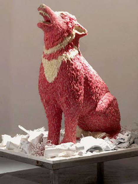 Chewing Gum Sculptures