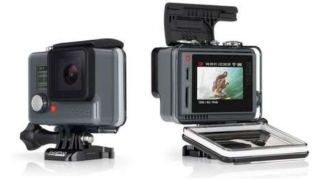 Touchscreen Action Cameras