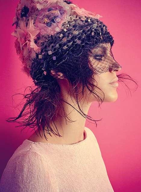 Botanical Couture Editorials
