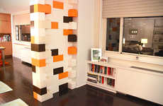 Life-Sized Building Blocks - The 'Everblock' Bricks are Larger Versions of the Classic LEGO Blocks